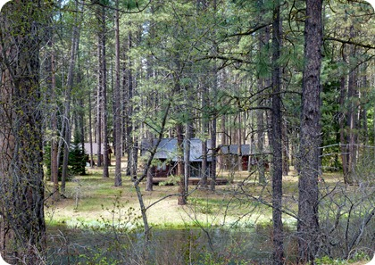 Camp Sherman cabins
