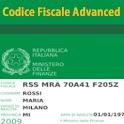 Codice Fiscale Advanced