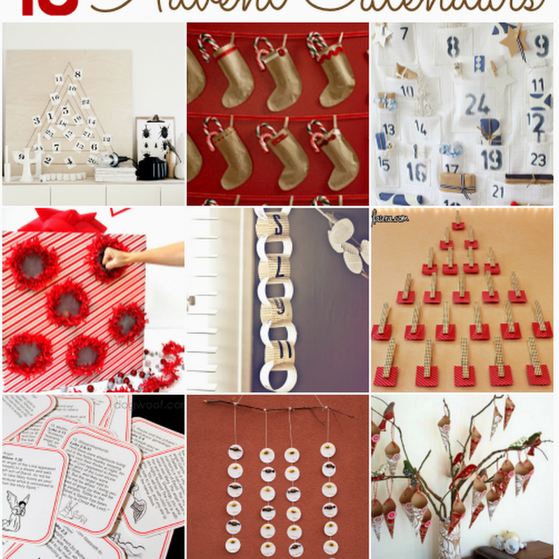 15 DIY Advent Calendars