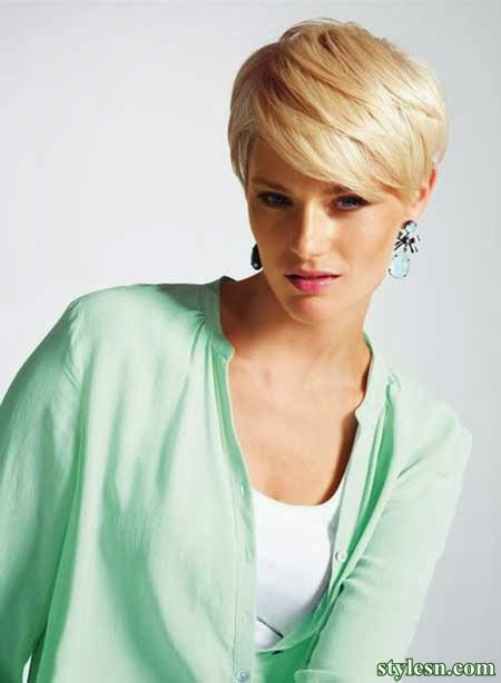 img6159442e36c4810ff0d2fd4ec1bee0b3 short hairstyles of Summer 2014