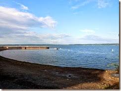 Swim beach at Sampson SP on Seneca Lake