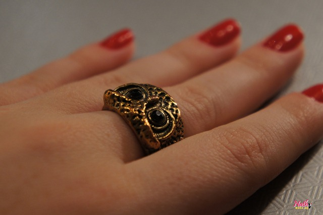 anel de corujinha