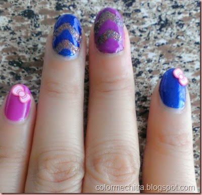 Chitra Pal Sinfulolors Nail Art for Collage (73)