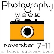 Photography Week Button, Orange 2