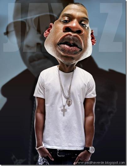 Caricatura Jay-Z1
