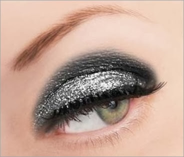 Polyvore Silver Loose Glitter for eyemakeup