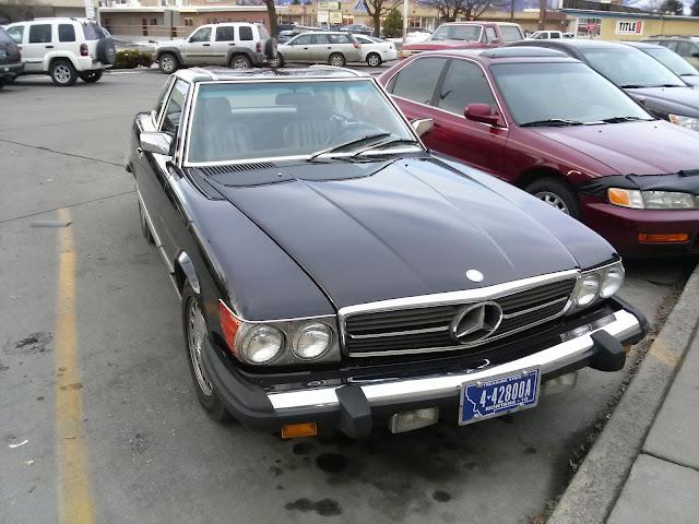 Old school imports mercedes benz 560sl for Mercedes benz missoula
