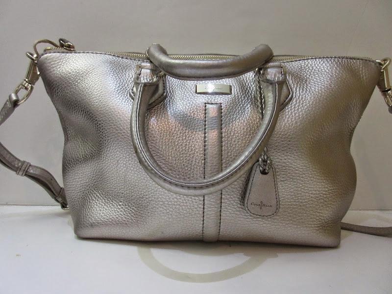 Cole Haan Silver Bag