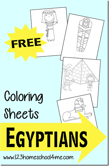 free ancient egyptian coloring sheets - Ancient Egypt Mummy Coloring Pages