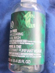 the body shop tea tree skin clearing facial wash, bitsandtreats