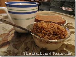 orange cardamom granola - The Backyard Farmwife