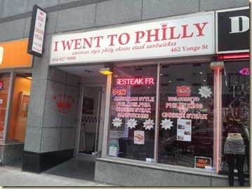 I Went to Philly