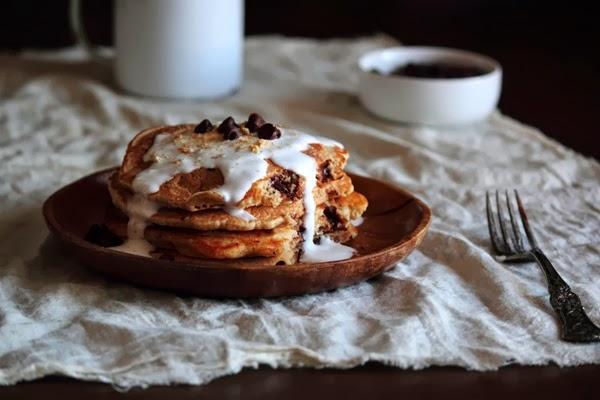 camping dessert smores pancakes
