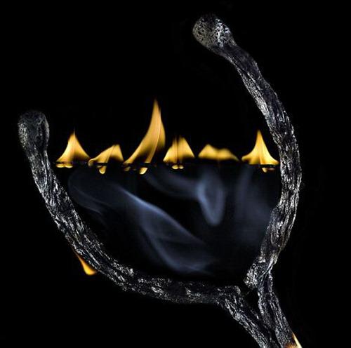 Arte russa com fogo 01