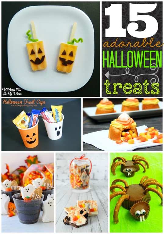 15 Adorable Halloween Treats #Halloween GingerSnapCrafts.com