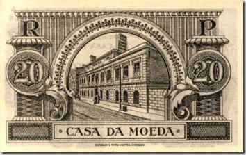 Casa da Moeda.10 (20 ctvs 1925)