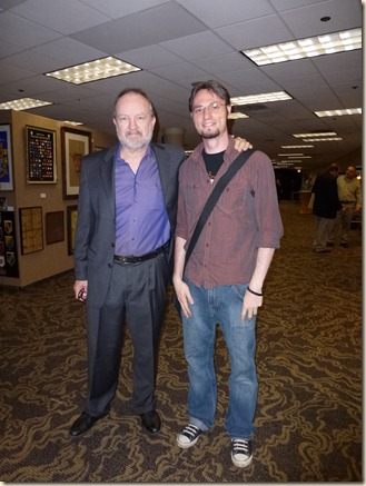 20111004 - Me & Jim Beaver (Bobby in Supernatural)