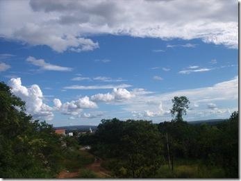 Subida da cachoeira do corrego Extrema - Brasilândia de Minas