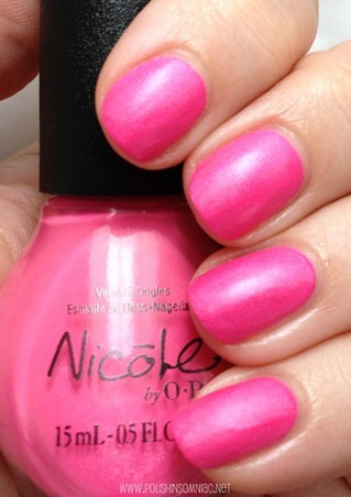 Nicole by OPI Still Into Pink 2