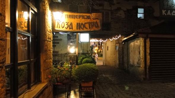 Ohrid à noite