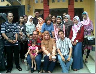 Foto bareng sm bu ida&keluarga