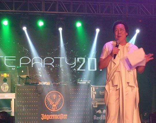 John Lapus White Party Manila 2014