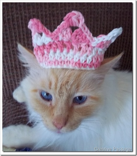 pink crown