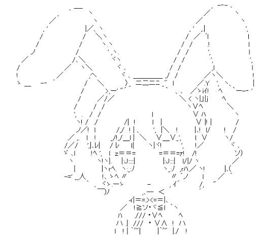 Cartalet Alice Rabbit ears (Kiniro Mosaic)
