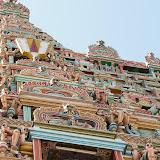 Porte principale du temple de Sri Ranganathaswamy