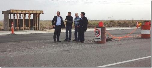 Juan Pablo de Jesús mantuvo encuentro con Vialidad Provincial por accesos a localidades y Terminal de San Clemente