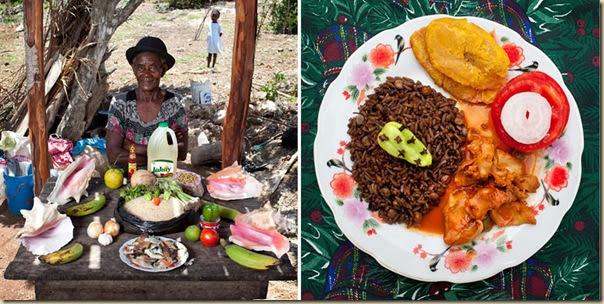 Portraits de grand-mères et leurs plats cuisinés (1)