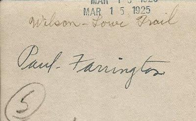 Paul Farrington Crosby Antiques back