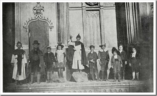 1917 miracle en el altar del mar