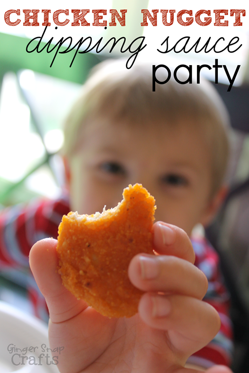 Chicken Nugget Dipping Sauce Party #LoveUrNuggets #ad