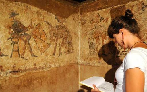 mural maya kuno