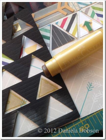Triangle template Silhouette Studio Daniela Dobson