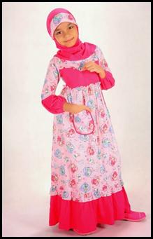 Model Baju muslim Anak Perempuan Umur 12 Tahun
