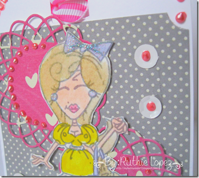 Tag - Dottie Dorothy - Bugaboo digital stamps - Wizard of Oz - Ruthie Lopez DT - Latinas Arts and Crafts 3