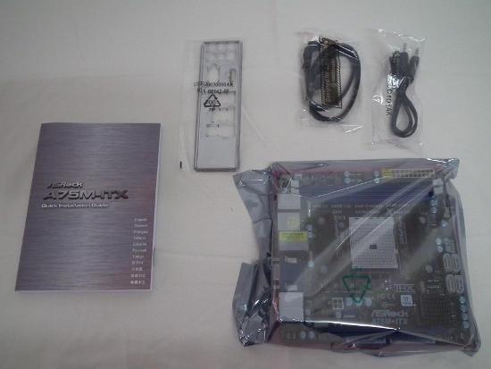 Contenido Asrock A75m-ITX