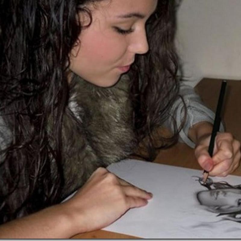 Amazing Hyper-Realistic Pencil Drawing(18pics)