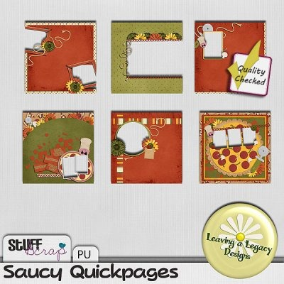 Saucy Quickpages