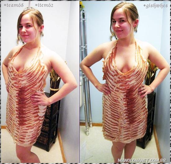 Vestido de Bacon