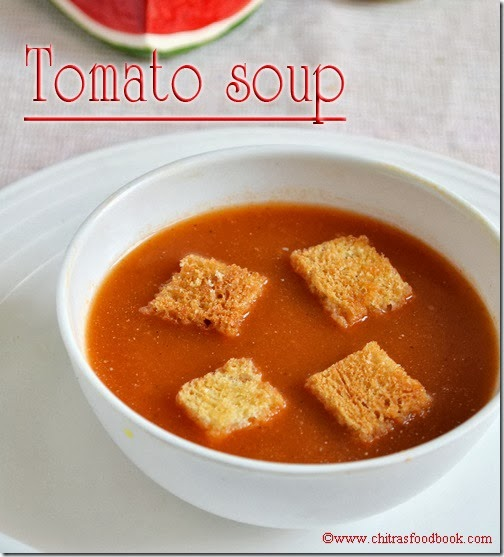 Tomato-soup-recipe-with-bread-pieces