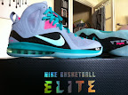 nike lebron 9 ps elite grey candy pink 5 02 LeBron 9 P.S. Elite Miami Vice Official Images & Release Date