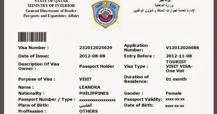 Qatarvisas on feedyeti qatar visa feedyeti qatar entry visa sample feedyeti altavistaventures Gallery