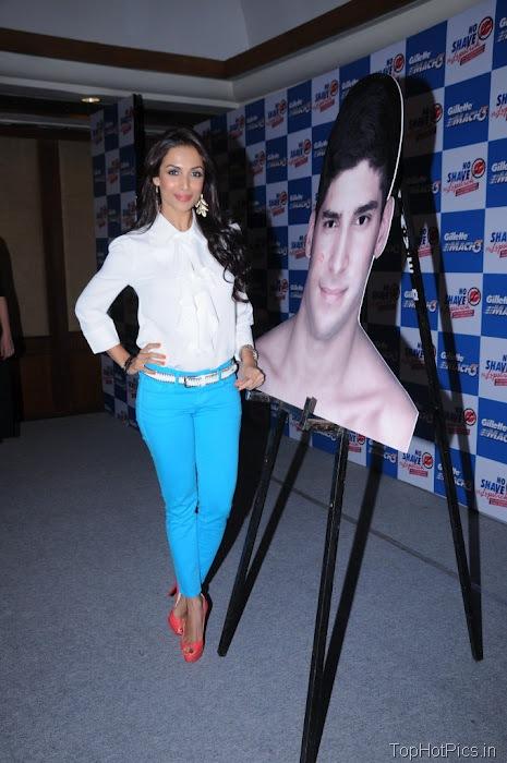 Malaika Arora Latest Pics in Blue Pants 2
