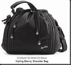 Kipling Blenny Perfo Black 61.0040.6918.30