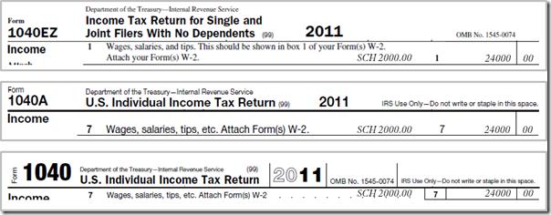 Taxes - 1040 1098-T