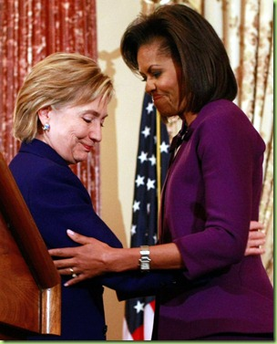 Hillary Clinton Michelle Obama Announce Int RMRwVAXz67Sl