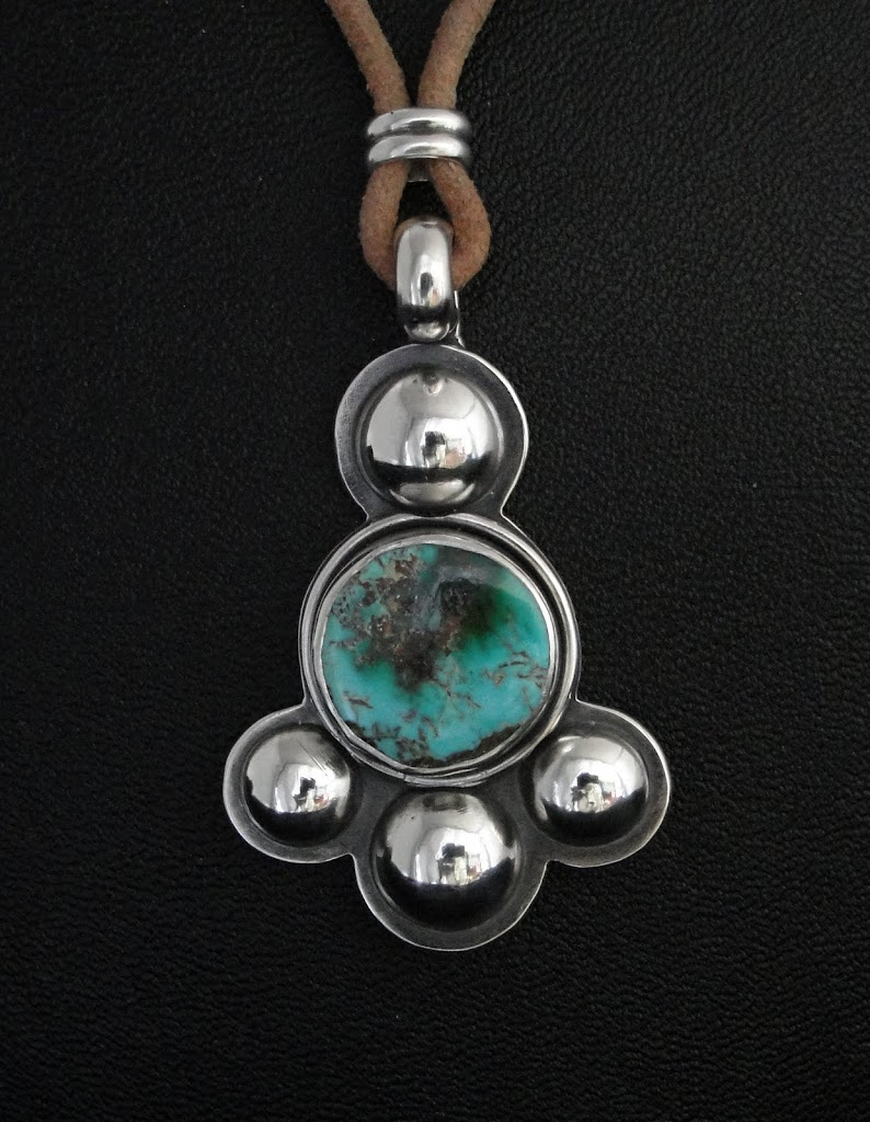 Turquoise w/Domes.....Sold